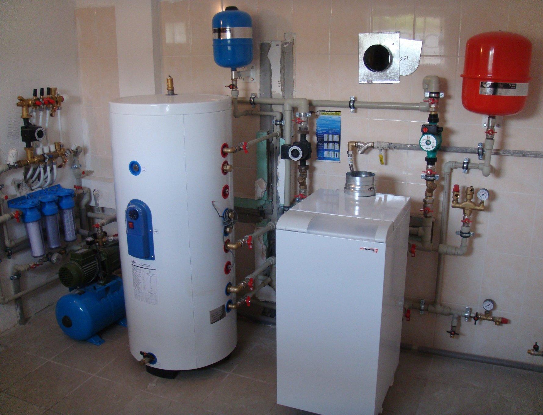 Разводка отопления в одноэтажном частном доме